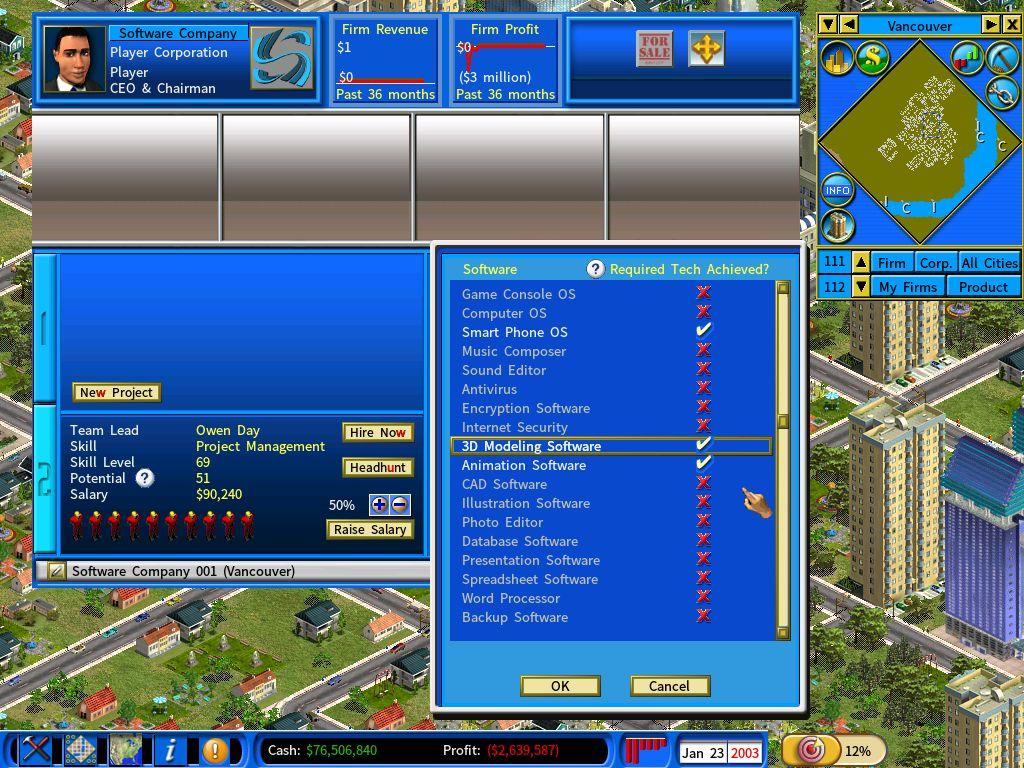 Develop 3D modelling software