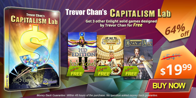 Buy Capitalism Lab + 3 Free Games Bundle