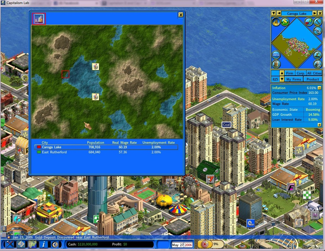 Build a New City Step 1