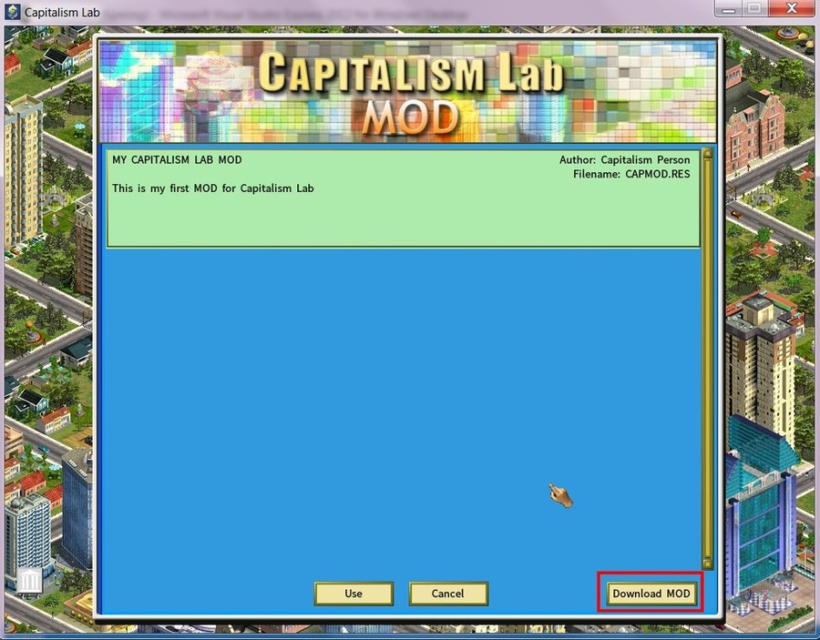 Download User-created MODs - Capitalism Lab