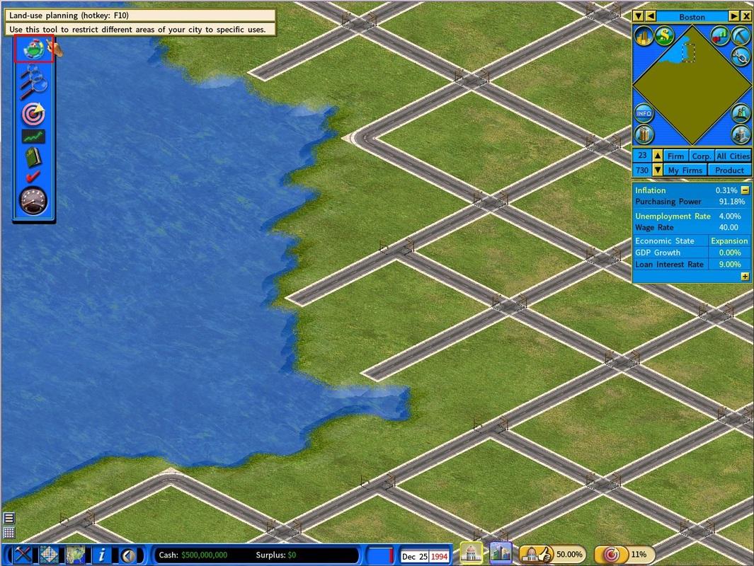 Land-use Planning Tool